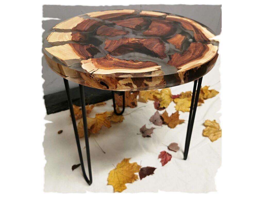 Noční stolek z jilmového dřeva